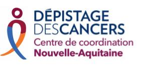 Dépistage des cancers Centre de coordination Nouvelle-Aquitaine